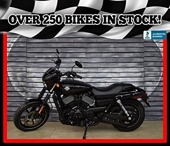2016 Harley-Davidson Street 750 for sale 200482015