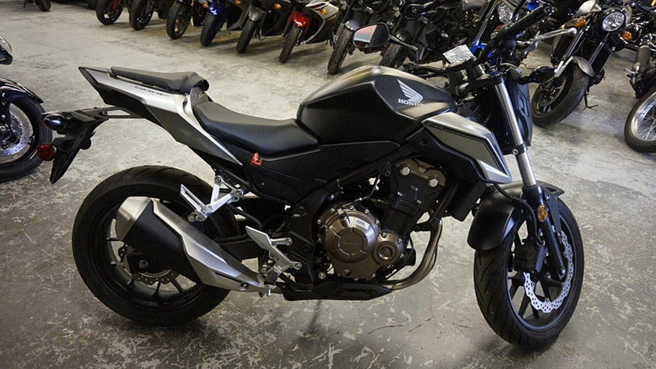 2016 Honda CB500F for sale 200458864