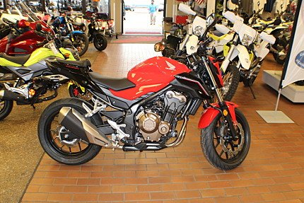 2016 Honda CB500F for sale 200435484