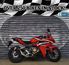 2016 Honda CBR500R for sale 200629511