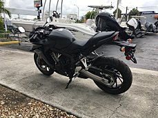 2016 Honda CBR650F for sale 200380957