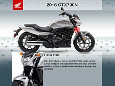 2016 Honda CTX700N for sale 200600432