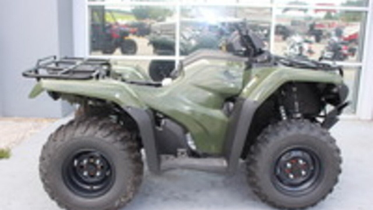 2016 Honda FourTrax Rancher for sale 200340394