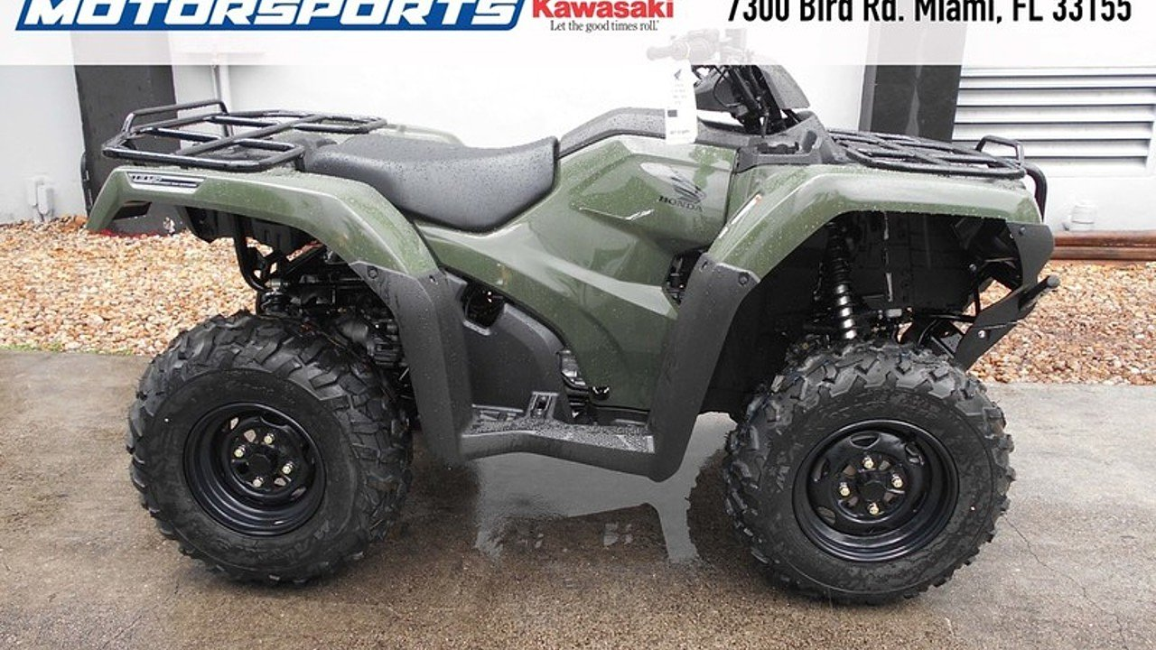 2016 Honda FourTrax Rancher for sale 200342123