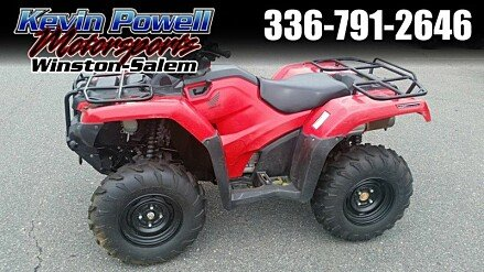 2016 Honda FourTrax Rancher for sale 200468235