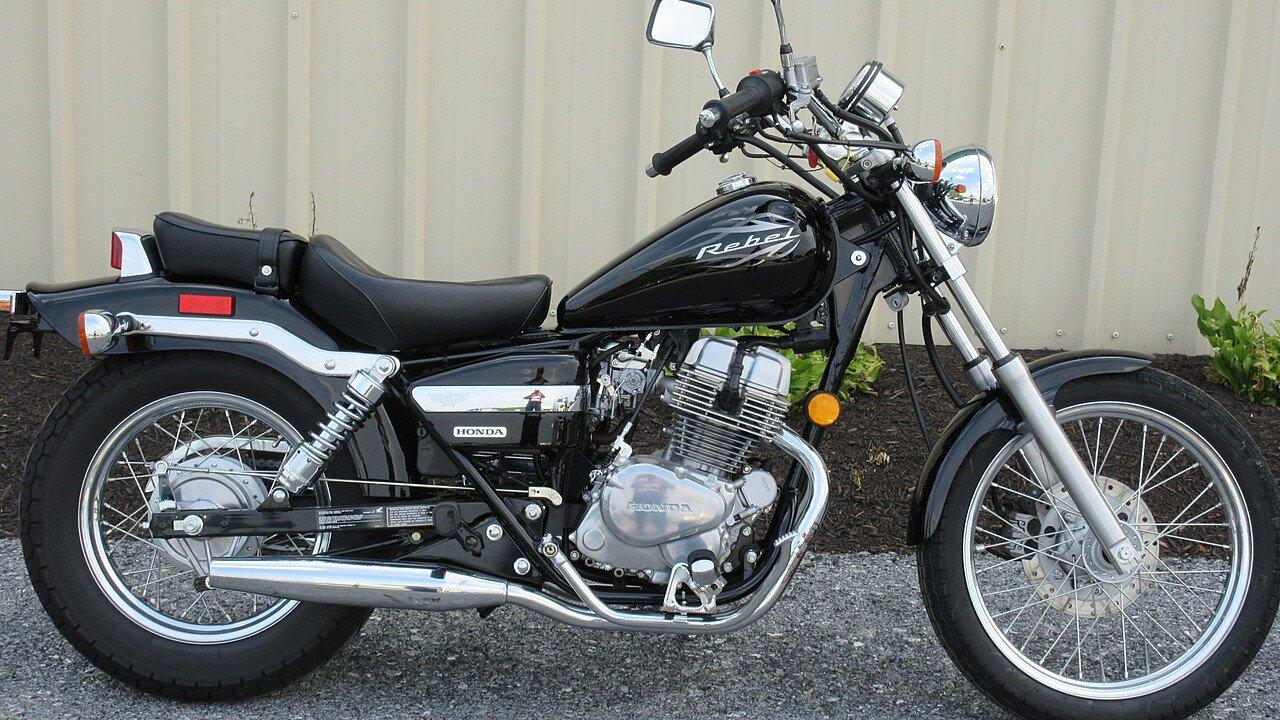 2016 honda rebel 250 for sale near myerstown pennsylvania for Hondas for sale
