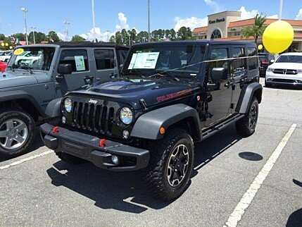 2016 Jeep Wrangler 4WD Unlimited Rubicon for sale 100769073