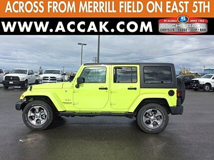 2016 Jeep Wrangler 4WD Unlimited Sahara for sale 100909931