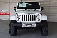 2016 Jeep Wrangler 4WD Unlimited Sahara for sale 100954071