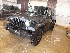 2016 Jeep Wrangler 4WD Unlimited Sport for sale 100954765