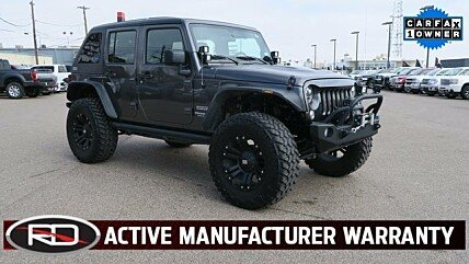 2016 Jeep Wrangler 4WD Unlimited Sport for sale 100971393