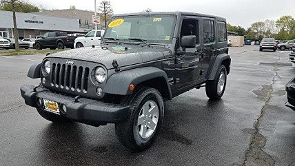 2016 Jeep Wrangler 4WD Unlimited Sport for sale 100981894