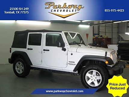 2016 Jeep Wrangler 4WD Unlimited Sport for sale 100983346