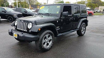 2016 Jeep Wrangler 4WD Unlimited Sahara for sale 100984328