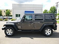2016 Jeep Wrangler 4WD Unlimited Sport for sale 100996272
