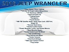 2016 Jeep Wrangler 4WD Unlimited Rubicon for sale 101005662