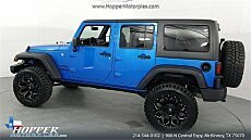 2016 Jeep Wrangler 4WD Unlimited Sport for sale 101038930