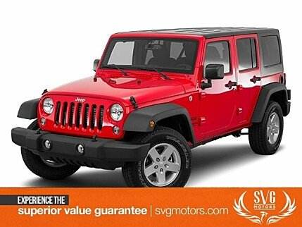 2016 Jeep Wrangler 4WD Unlimited Sport for sale 101045539