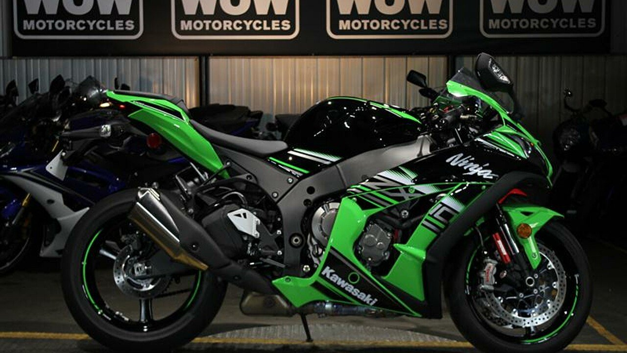 2016 Kawasaki Ninja ZX-10R for sale 200544878