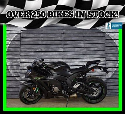 2016 Kawasaki Ninja ZX-10R for sale 200535912
