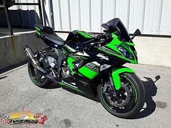 2016 Kawasaki Ninja ZX-6R for sale 200498336
