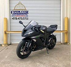 2016 Kawasaki Ninja ZX-6R for sale 200563171