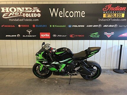 2016 Kawasaki Ninja ZX-6R for sale 200595688