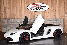 2016 Lamborghini Aventador LP 700-4 Roadster for sale 100862541