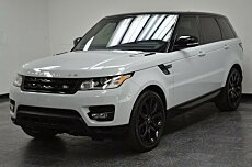 2016 Land Rover Range Rover Sport Supercharged for sale 100850222