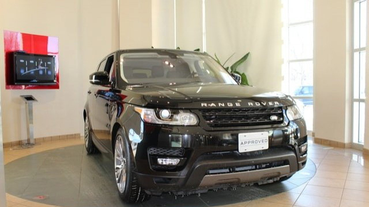 2016 Land Rover Range Rover Sport Supercharged for sale 100839921