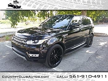 2016 Land Rover Range Rover Sport HSE for sale 100977829