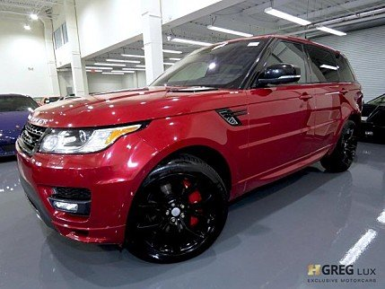 2016 Land Rover Range Rover Sport Autobiography for sale 100997998