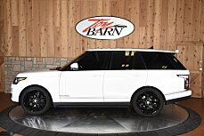 2016 Land Rover Range Rover Supercharged for sale 100877590