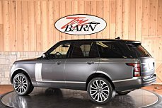 2016 Land Rover Range Rover Supercharged for sale 100972010