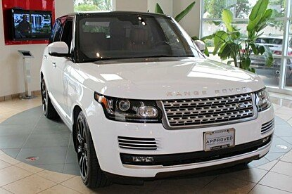 2016 Land Rover Range Rover Autobiography for sale 100986989