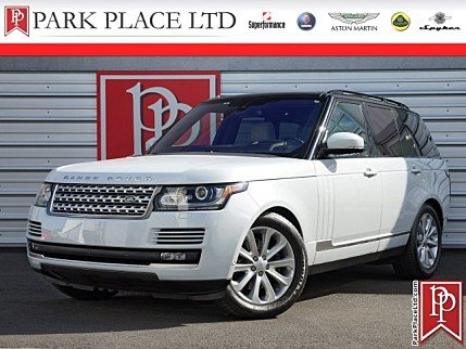 2016 Land Rover Range Rover HSE for sale 100991992