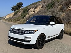 2016 Land Rover Range Rover HSE for sale 100998480