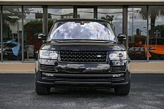 2016 Land Rover Range Rover Supercharged for sale 100998751