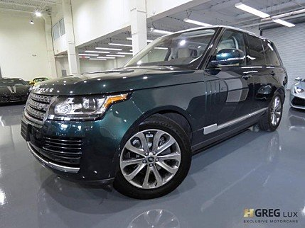 2016 Land Rover Range Rover for sale 101049544