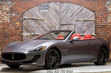 2016 Maserati GranTurismo Convertible for sale 100876624