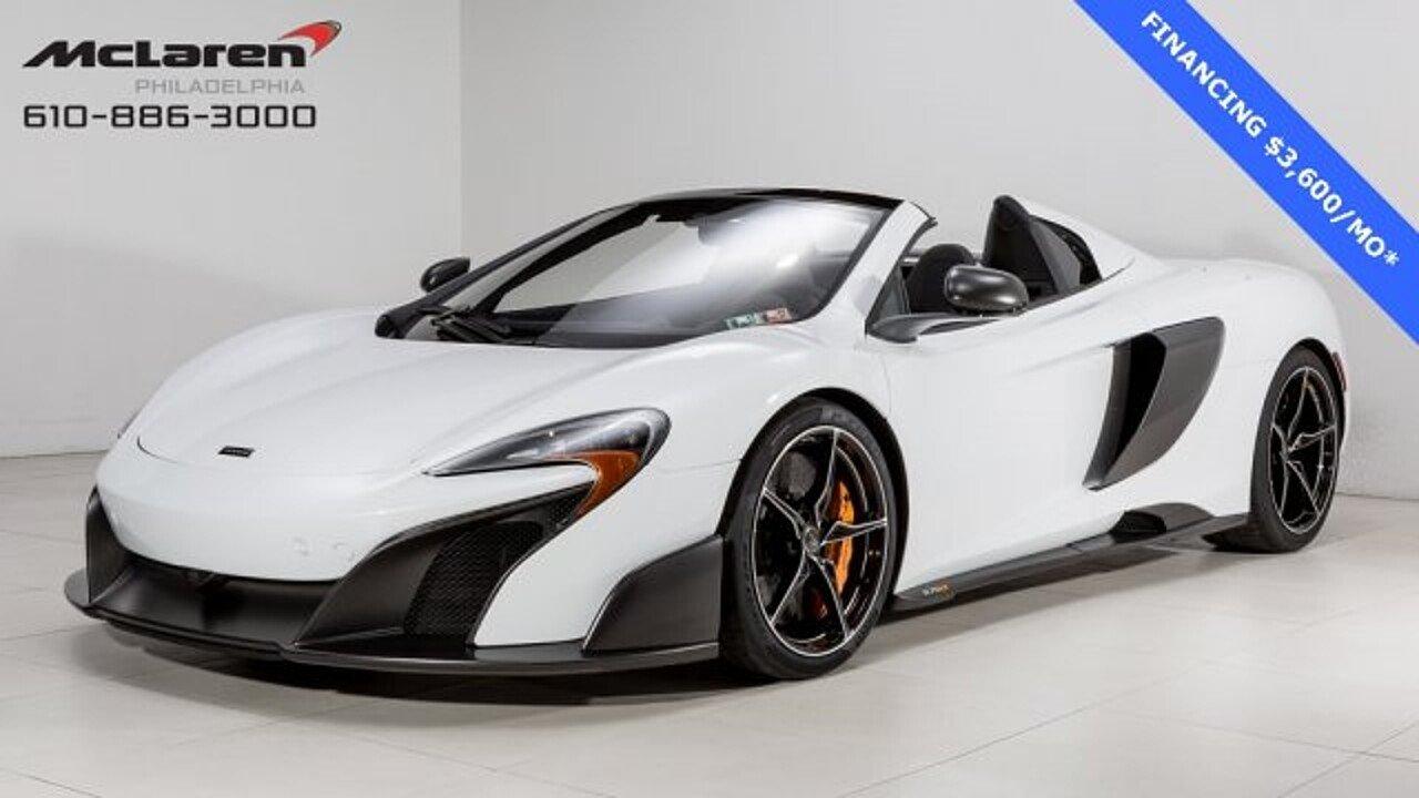 2016 McLaren 675LT for sale 100857966