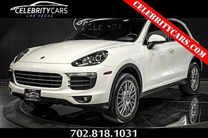 2016 Porsche Cayenne for sale 100997328