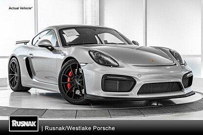2016 Porsche Cayman GT4 for sale 101025340