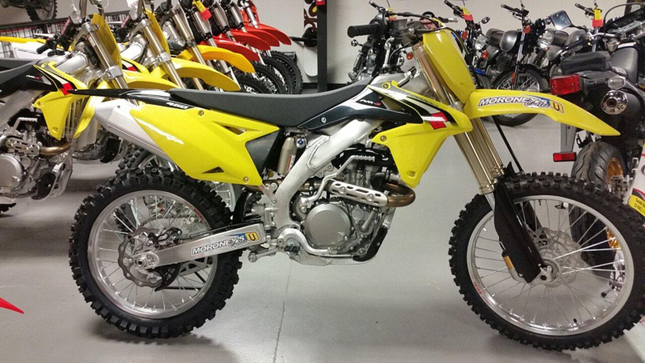 2016 Suzuki RM-Z450 for sale 200443253