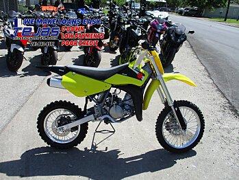 2016 Suzuki RM85 for sale 200584581