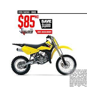 2016 Suzuki RM85 for sale 200589272