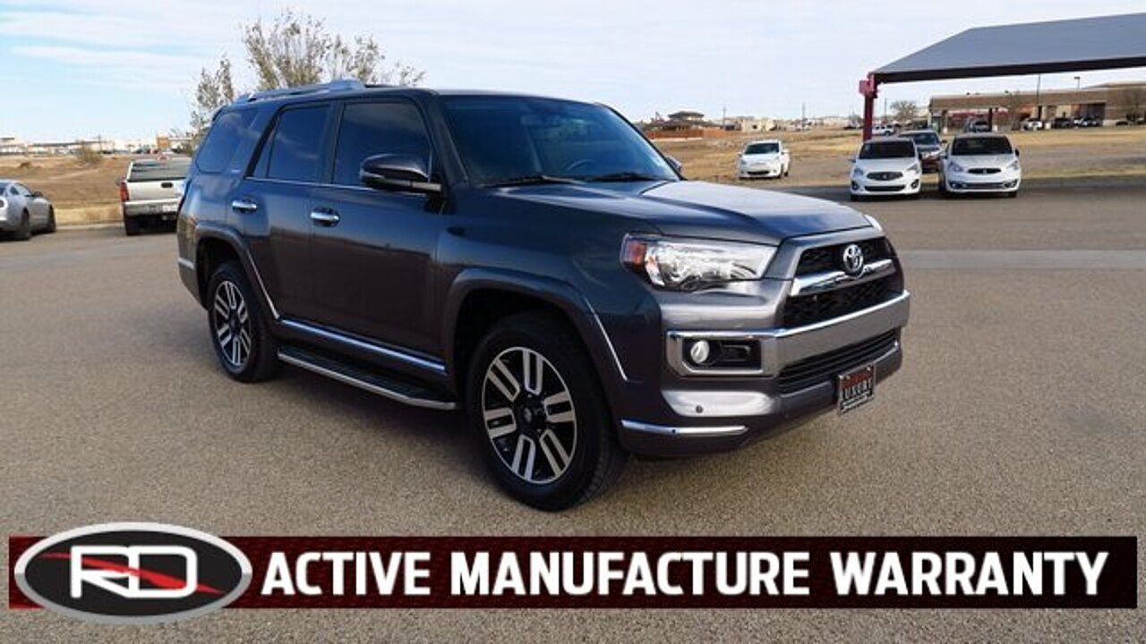 2016 Toyota 4Runner 4WD for sale 100929599