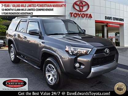 2016 Toyota 4Runner 4WD for sale 100958376