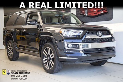2016 Toyota 4Runner 4WD for sale 101002826