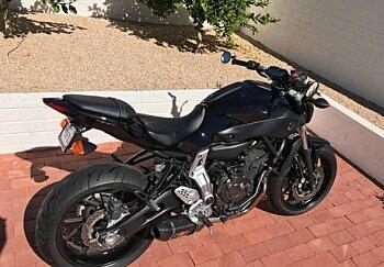 2016 Yamaha FZ-07 for sale 200430243